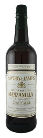 Savory & James Sherry Manzanilla